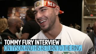 Tommy Fury on Tyson's mental health, his future in boxing, Ricky Hatton mocking him in the gym
