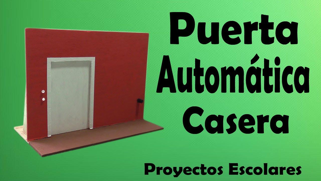 Proyectos Puerta Autom 225 Tica Casera Muy F 225 Cil De Hacer