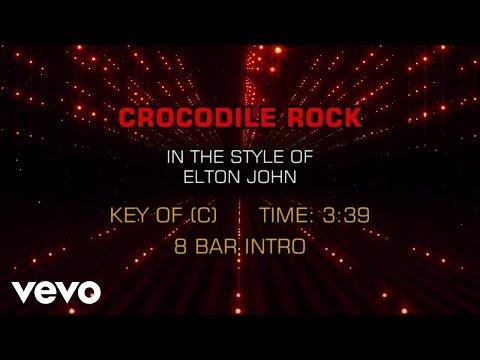 Elton John - Crocodile Rock (Karaoke)