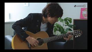 春畑道哉がJ'S THEME(Jのテーマ)をアコースティックギターで生演奏!春畑道哉、川淵三郎、村井満がJリーグの25年を振り返ります。