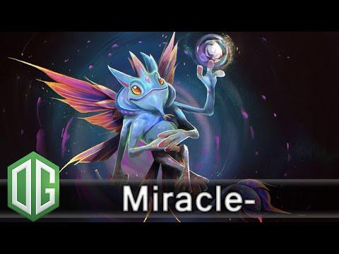 OG.Miracle- Puck Gameplay - Ranked Match - OG Dota 2