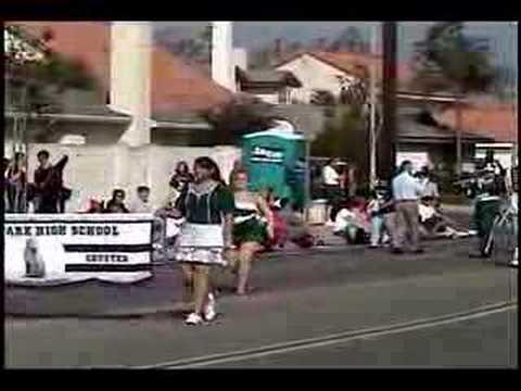 Buena Park HS at the 2007 La Palma Band Review
