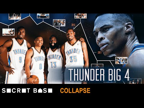 How the Thunder failed to win a title after drafting three MVPs in a row