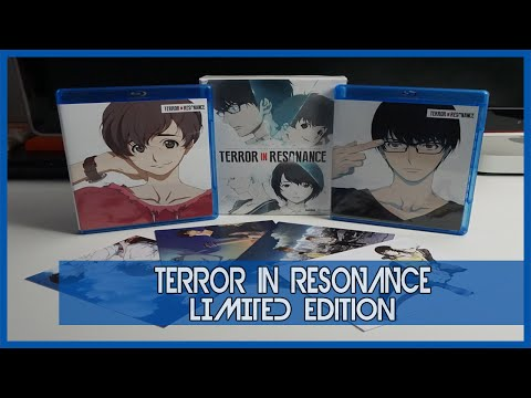 Anime Unboxing  Terror In Resonance Limited Edition bluraydvd combo 2016