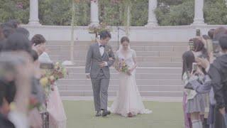 [Wedding] 오월의 야외결혼식 셀프 본식영상 / …
