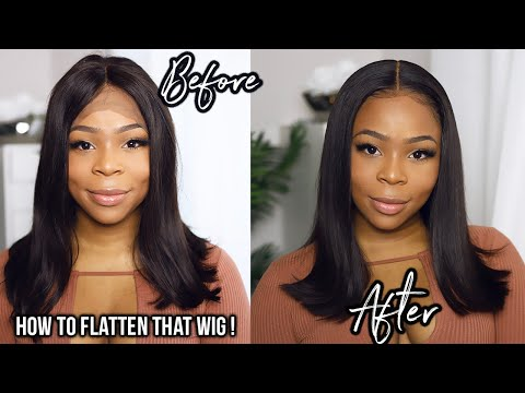 ThIs TOOL Will Completely CHANGE Your Life | Make Your Wig Lay FLAT | | Wowafrican