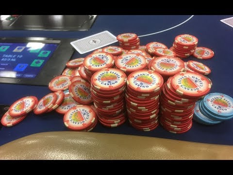 ROYAL FLUSH (Draw) at Ocean's 11 $2/$3 NLH | Poker Vlog #9