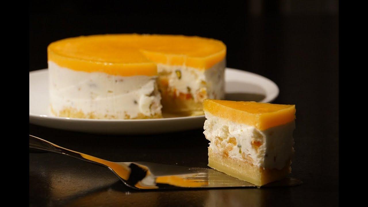 Recette de no l nougat glac miel abricots youtube - Herve cuisine buche de noel ...