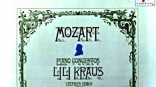 Mozart Piano Concertos No 20 21 22 23 24 25 26 27 Recording Of The Century Lili Kraus Simon