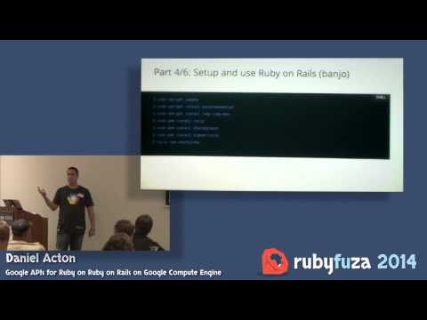 Google APIs for Ruby on Ruby on Rails on Google Compute Engine