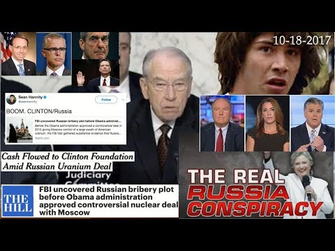 Explosive new Russia Collusion & Bribery Evidence Covered Up by FBI/DOJ Related to Uranium One