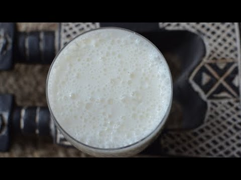 THE GHANAIAN KENKEY MILK SHAKE RECIPE (ICE KENKEY)