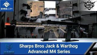 EMG Sharps Bros Jack & Warthog Advanced M4 Series [The Gun Corner] - Airsoft Evike.com