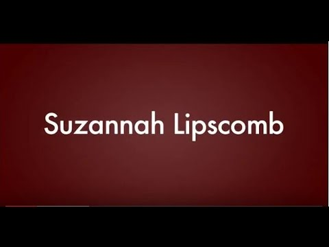 Interview with Dr. Suzannah Lipscomb on her new book 2016
