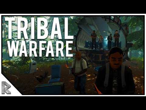 TRIBAL WARFARE! THE FOREST PVP! - The Forest Tribal Warfare #S1E1