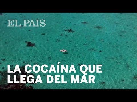 La cocaína que llega del mar