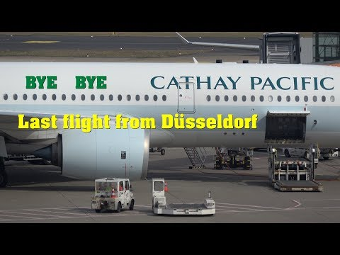 Dusseldorf Airport Spotting Session March 2018 4K