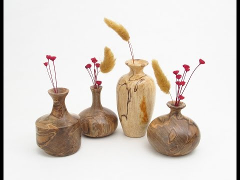 How to Turn a Twig Pot Woodturning Pt 1 of 2