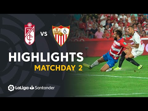 Highlights Granada CF vs Sevilla FC (0-1)