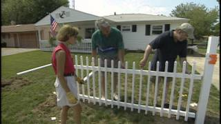 How to Install Vinyl Fence
