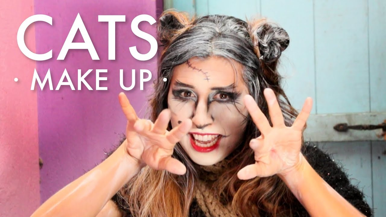 MAQUILLAJE DE GRIZABELLA · CATS · MAKE UP ·