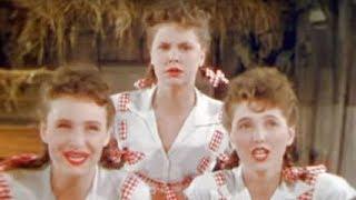 В 1944-м сестры Росс делали непостижимые трюки, которые за 70 лет никто не смог повторить
