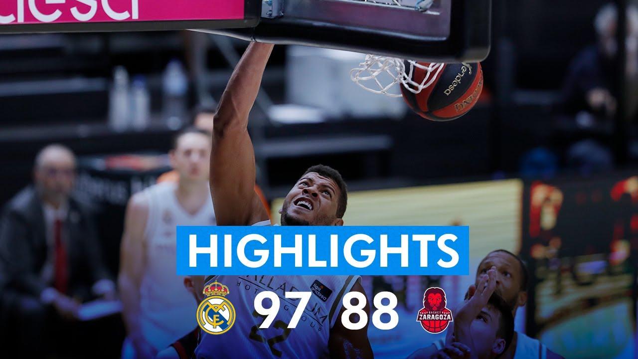 RESUMEN | Real Madrid 97-88 Basket Zaragoza