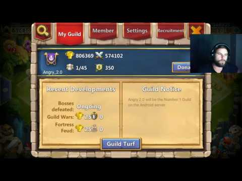 New Guild Android Server | Castle Clash
