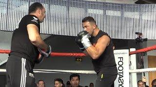 Tyson Fury v Sefer Seferi - Sefer Seferi Public Workout
