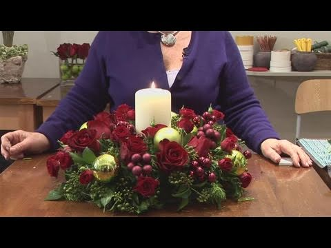 how-to-design-christmas-candle-centerpieces