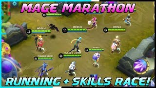 Mage Running + Skills Race Tournament! | Mobile Legends Bang Bang | MLBB