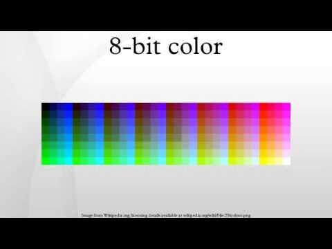 8-bit color - YouTube