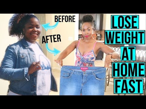 6 Ways to LOSE WEIGHT AT HOME & FAST | How I Lost 100 Pounds & KEPT IT OFF