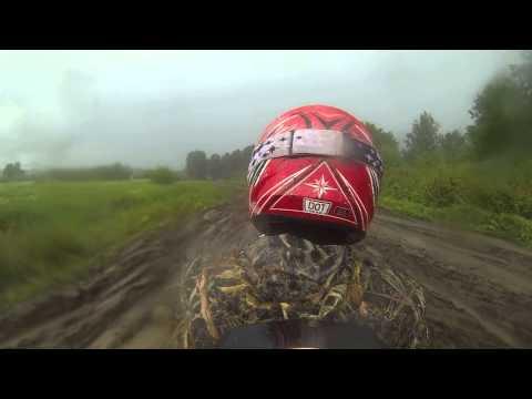 Квадроцикл Polaris Sportsman Touring 550 EPS в дождь
