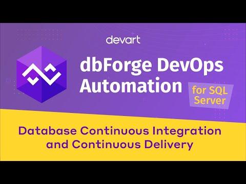 DevOps Automation Tool For SQL Server Database