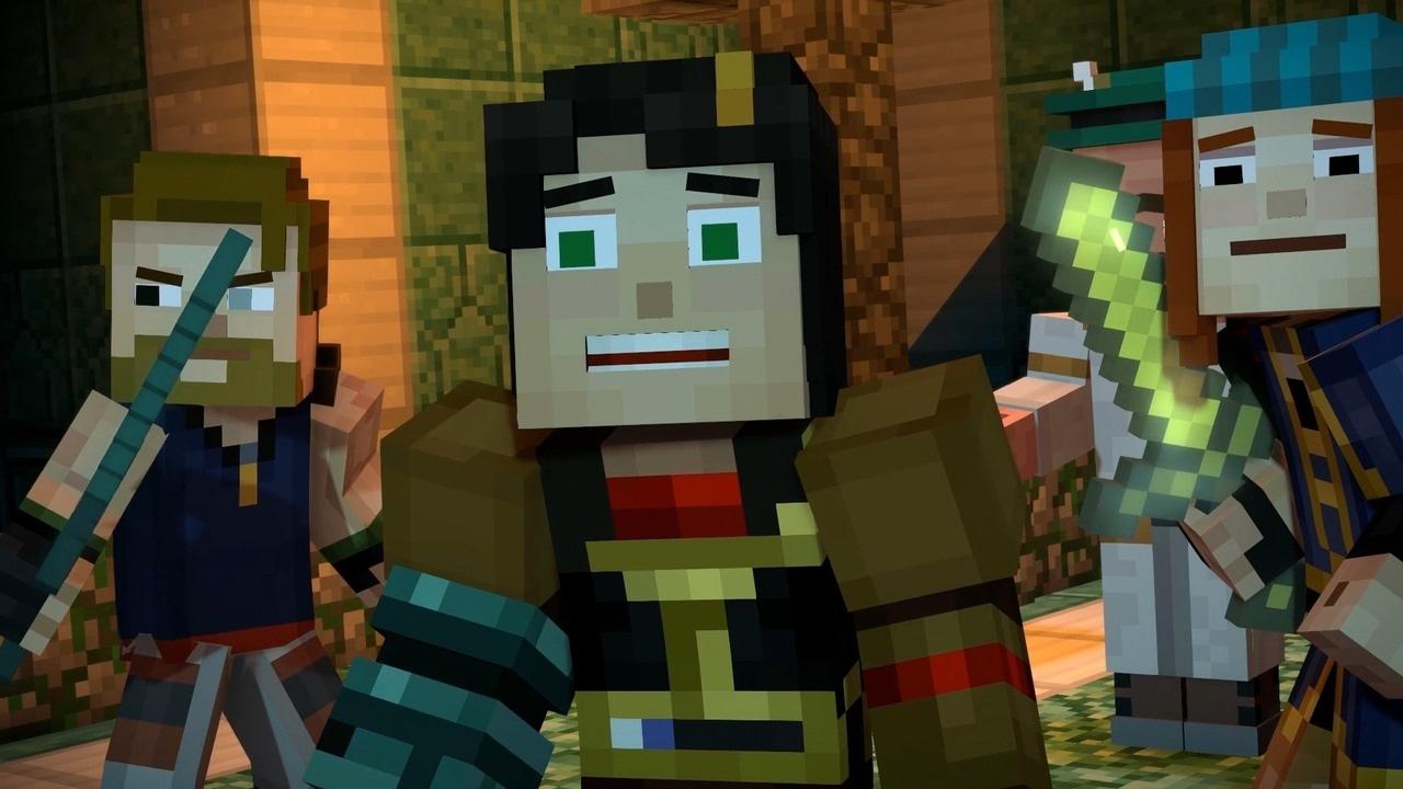 4 Minutes Of Minecraft Story Mode Season 2 E3 2017 Youtube