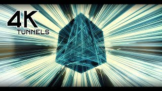 SCIFI Tunnels MIX  4K Moving Background  VJ Animation Effects AAVFX