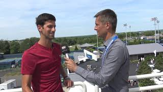 Novak Đoković   Vimbldon za Ponos, ali Sada Gledam Napred   SPORT KLUB Tenis
