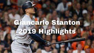 Giancarlo Stanton 2019 Highlights