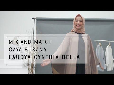 Mix and Match Gaya Busana Laudya Cynthia Bella