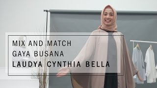 Mix and Match Gaya Busana Laudya Cynthia Bella