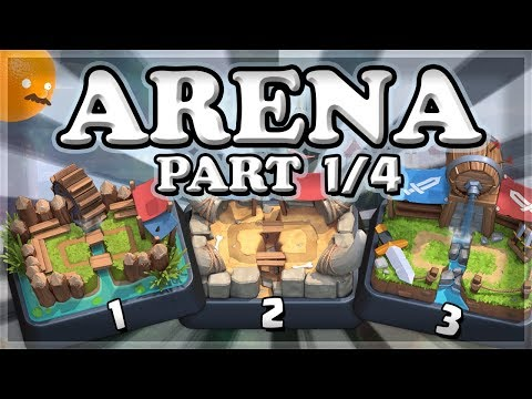October Arena Challenge 1, 2, 3 | Clash Royale | Part 1/4