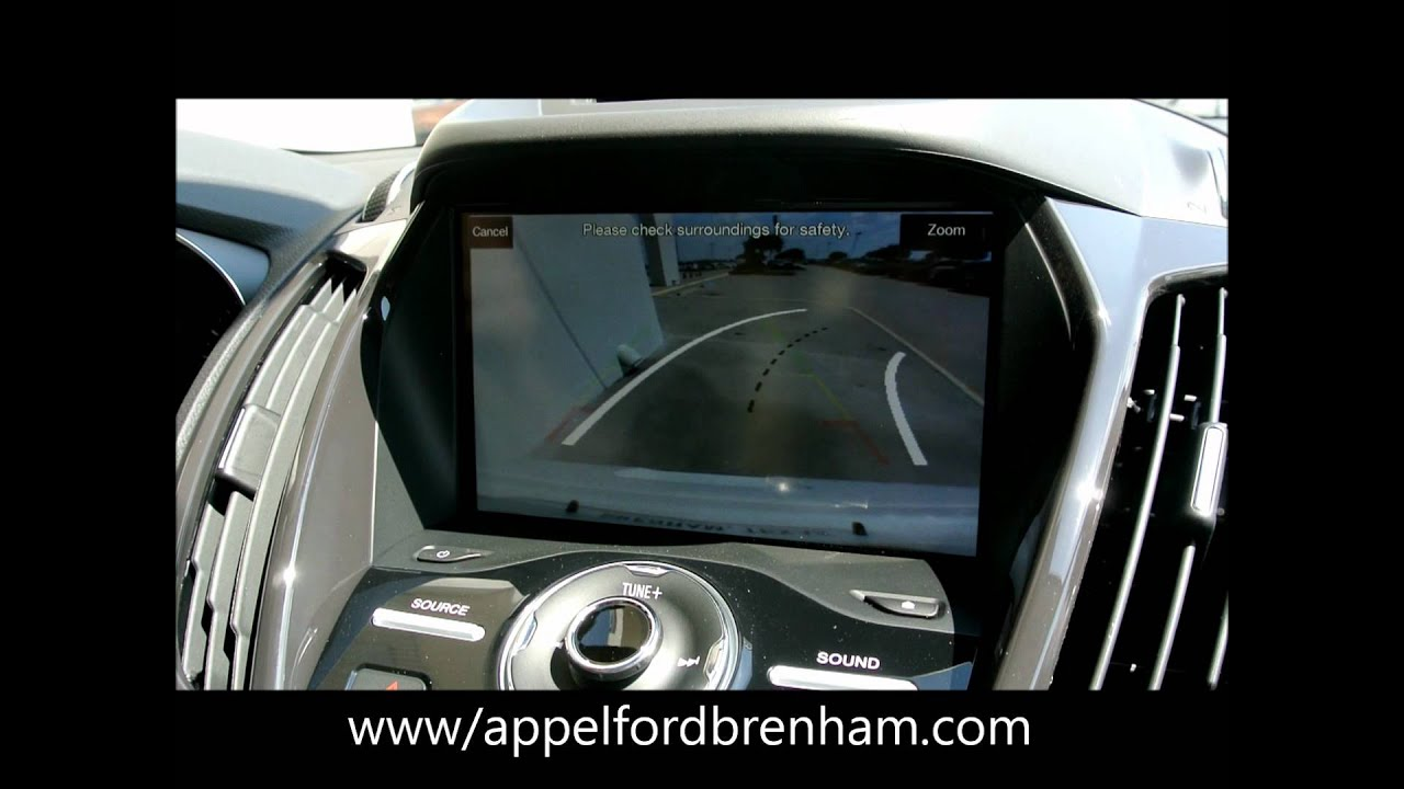 2013 ford escape rear view camera wmv www. Black Bedroom Furniture Sets. Home Design Ideas
