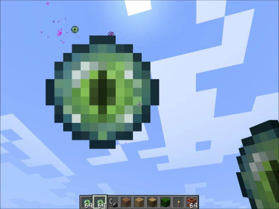 Minecraft How To Craft Eye Of Ender