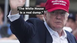 1600 Pennsylvania Ave.: The 'President's Palace' or Trump's 'dump'?
