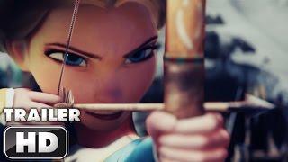 Wonder Woman Trailer Disney Style