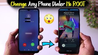 Change Any Phone Dialer to Customization Dialer 😲 | 7 New Styles | Add Full Photo Caller Screen 🔥🔥 screenshot 1