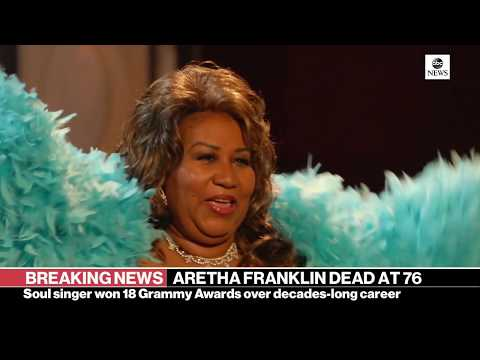 Aretha Franklin, the undisputed 'Queen of Soul,' dies at 76