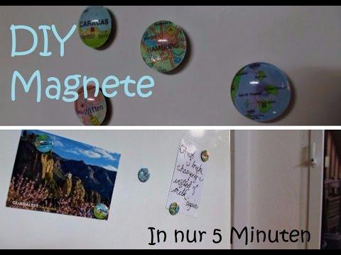 Kühlschrank Magnete : Diy kühlschrankmagnete in nur 5 minuten youtube