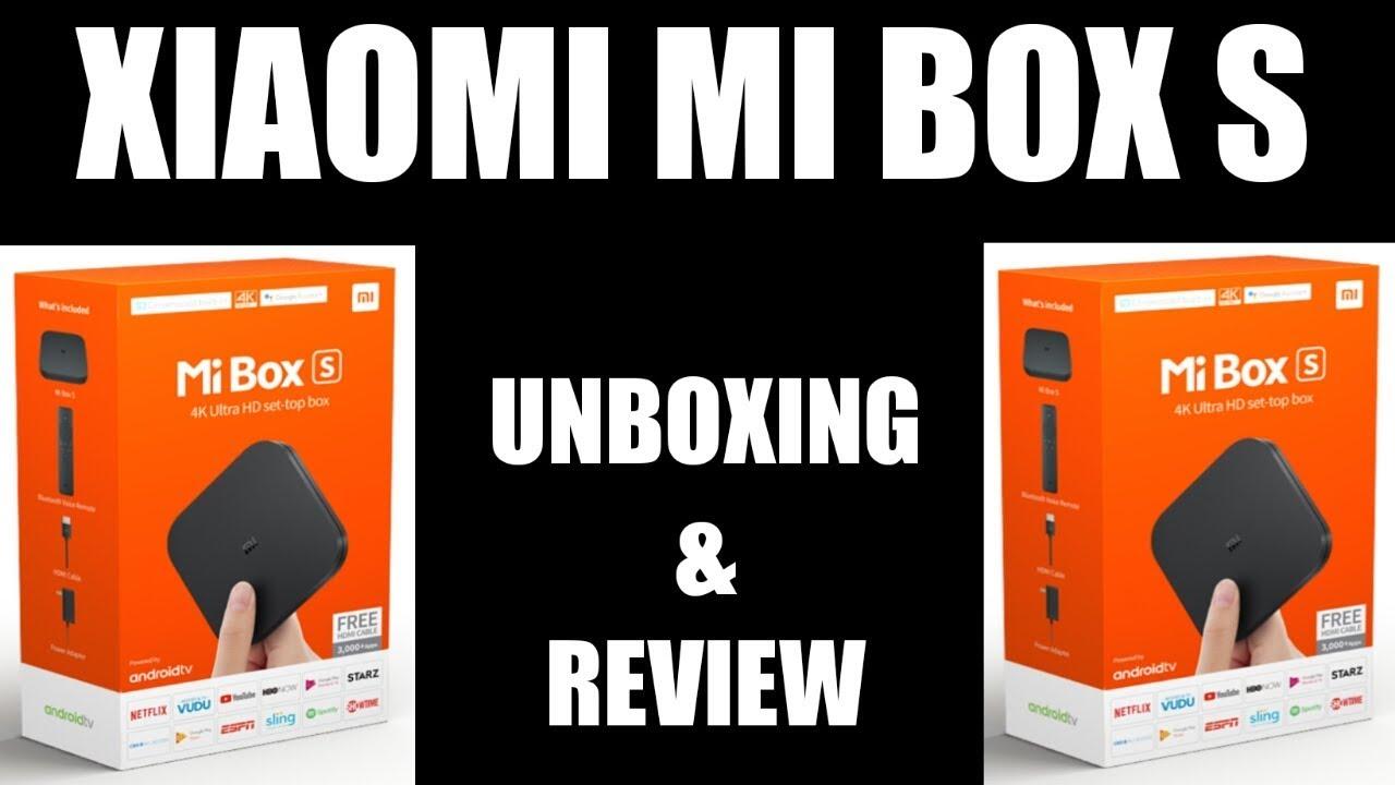 Xiaomi Mi Box S 4k Android Tv Box Youtube - Somurich com
